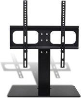 """TV-beugel met glazen basis 600x600 mm 32"""" - 55"""" - Luxe TV standaard"""