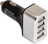 RealPower - Car Charger 4 x USB 12V & 24V