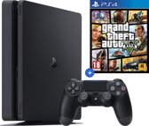 Sony PlayStation 4 Slim GTA V bundel - Zwart - 500GB