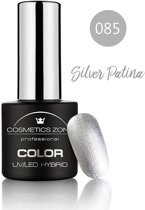 Cosmetics Zone UV/LED Hybrid Gel Nagellak 7ml. Silver Patina 085