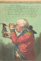 Caricature of King George III Holding Napoleon in his Hand 1803 Journal