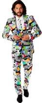 OppoSuits Testival - Mannen Kostuum - Gekleurd - Carnaval - Maat 50