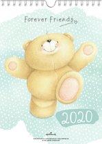 Kalender - Weekkalender - Forever Friends - 2020 - 16,5x23cm