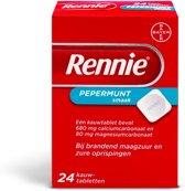 Rennie - 24 Tabletten - Maagzuurremmers