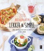 Boek cover Lekker & simpel van Jorrit van Daalen Buissant Des A (Paperback)