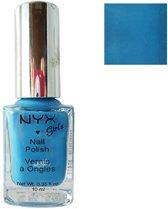 NYX Girls Nail Polish - NGP110 Hot Blue