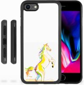 iPhone 8 Backcover Horse Color