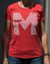 Metropole Orkest T-shirt - Dames - M - Rood