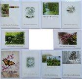 Rouwkaarten en Condoleance kaarten - Set van 10 -- L-001