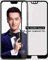 Let op type!! MOFI 9H 2.5D volledig scherm getemperd glas Film voor Huawei Honor 10 (zwart)