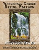 Waterfall Cross Stitch Pattern