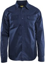 Blåkläder 3298-1190 Overhemd Marineblauw maat XXXL