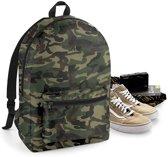 Packaway backpack, Jungle Camo/ Black