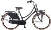 Popal Daily Dutch Basic Plus - TR26N3 - 26 inch - Meisjesfiets - Transport - Mat Zwart