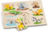 New Classic Toys - Knoppuzzel - Safaridieren