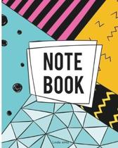 Notebook: Journal Blank Notebook Journal Book: Notebook Journal Diary, 120 Lined pages, 8'' x 10''