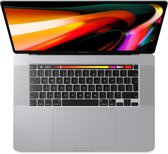 Apple MacBook Pro (2019) Touch Bar MVVM2N - 1TB - 16 inch - Zilver