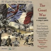 The Great War Remembered In Songs And Poems