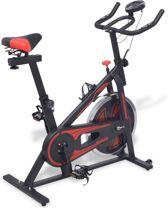 Spinningfiets met Hartslagsensoren - Spinfiets - Crosstrainer - Spinbike - Spinning fiets