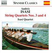 Isasi: String Quartets 3+4