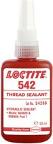Loctite Secondelijm Hydraulic Seal afdichtmiddel 542 50ml tube