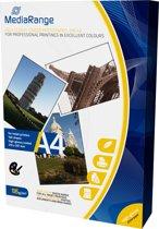 Foto Papier MediaRange Hoogglans A4 135g 100 Pag.