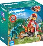 PLAYMOBIL Motorcrosser met Raptor - 9431