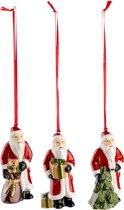 Villeroy & Boch Nostalgic Ornaments Ornamenten Santas, set 3-dlg.