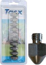 Tacx Kalkoensleutel - 17 mm - Rvs Punt