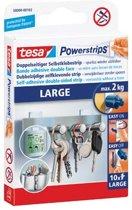 Tesa - 58000 - kleefstrip Powerstrips draagkracht 2 kg blister van 10 stuks