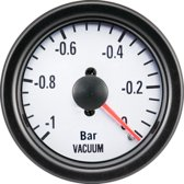AutoStyle Performance Instrument Wit Vacuüm -1>0,2 52mm