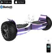 Road Flow Challenger Basic 2018 Best 8.5 inch SUV Hoverboard met APP Functie 700W Motion V.5 Bluetooth speakers en met TAOTAO moederbord