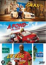 Taxi 5 / A fond / Belleville cop (3 DVD)