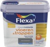 Flexa Mooi Makkelijk - Vloeren en Trappen - Mooi Donkergrijs - 750 ml