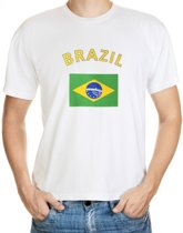 Brazil t-shirt met vlag M
