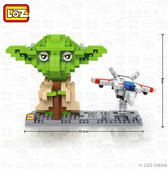 Yoda, Star Wars, LOZ Diamond BLocks