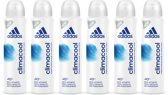Adidas Climacool Deodorant - 6 x 150 ml - Voordeelverpakking