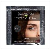 Henna Wenkbrauwverf Zwart | Henna Brows | Geschikt voor 3 tot 6 toepassingen