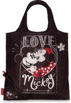 "Disney Minnie Mouse ""Love"" shopper - 38x38cm - Zwart"