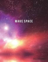 Make Space 2018-19 Planner
