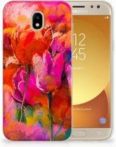 Samsung Galaxy J5 2017 TPU Hoesje Design Tulips