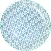 Tokyo Design Studio - star wave bord grijs 20.6x2.2cm