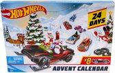 Afbeelding van Hot Wheels Adventskalender Met Autos en Accessoires speelgoed