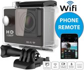Action Camera EKEN W9 Full HD Wifi & HDMI met 23 accessoires