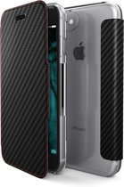 X-Doria Booklet carbon fiber  - zwart - voor iPhone 7