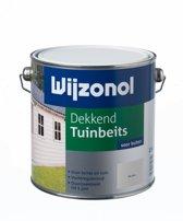 Wijzonol Dekkend Tuinbeits - 2,5 liter - Antraciet