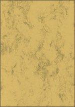 designpapier Sigel A4 90grs pak a 100 vel marmer zandbruin