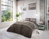 Sleeptime Warm Skin - Dekbedovertrek - Eenpersoons - 140x200/220 + 1 kussensloop 60x70 - Grijs