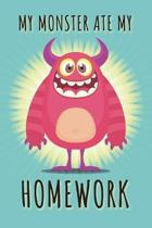 My Monster Ate My Homework