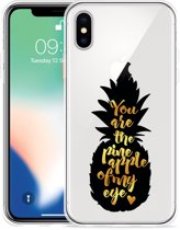 Apple iPhone Xs Hoesje Big Pineapple